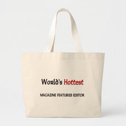 El redactor más caliente de las características de bolsa tela grande