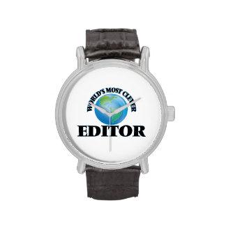 El redactor más listo del mundo reloj de mano