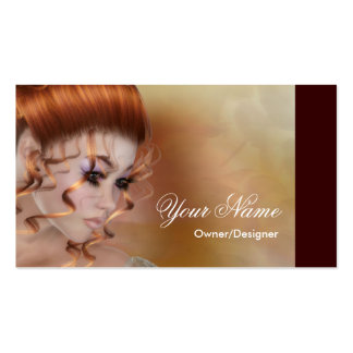 El Redhead - tarjetas de visita de la fantasía/de
