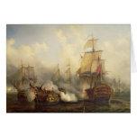 El Redoutable en Trafalgar, el 21 de octubre de 18 Tarjetas