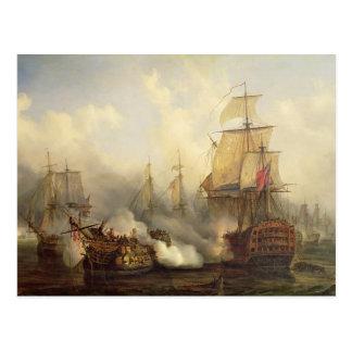 El Redoutable en Trafalgar, el 21 de octubre de 18 Postales