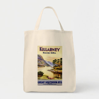 El reflejo del cielo del ~ de Killarney Bolsa Tela Para La Compra