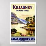 El reflejo del cielo del ~ de Killarney Posters