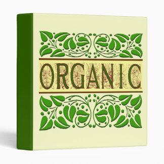 """El refrán orgánico con el vintage verde deja la carpeta 1"""""""