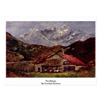 El refugio de Courbet Gustavo Postal