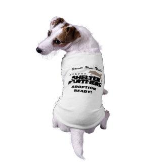 El REFUGIO Partners camisetas de encargo del perro Playera Sin Mangas Para Perro