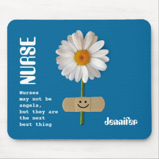 El regalo conocido Mousepad de la enfermera de enc