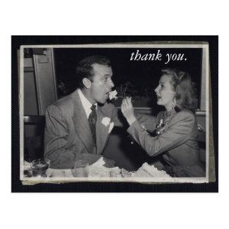 El regalo de boda le agradece cardar la foto adapt postal