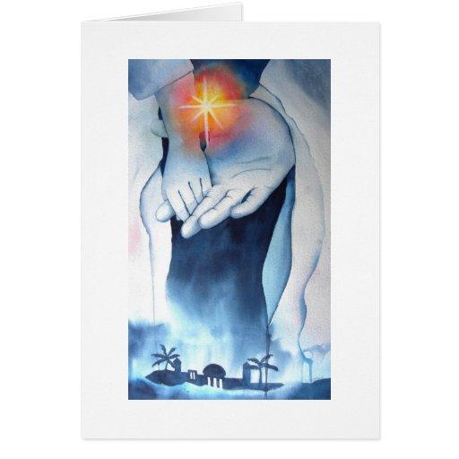 El regalo de dios al mundo tarjeta de felicitación