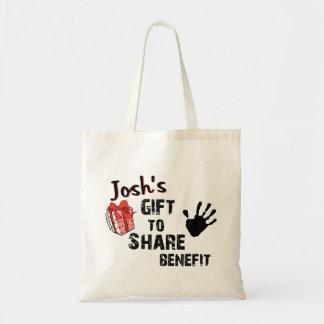 El regalo de Josh para compartir la ventaja Bolsas