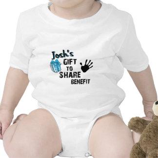 El regalo de Josh para compartir la ventaja Trajes De Bebé