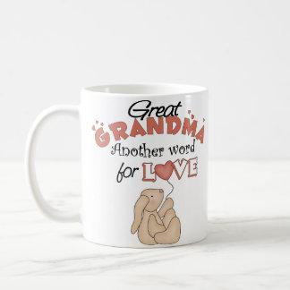 El regalo de los grandes niños de la abuela taza de café