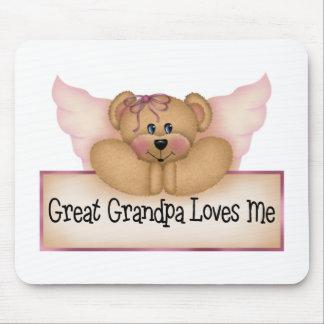 El regalo de los grandes niños del abuelo tapete de raton