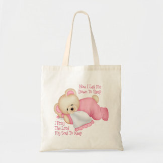 El regalo de los niños cristianos bolsas de mano