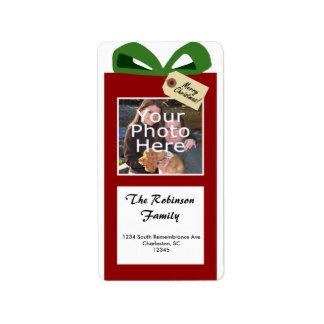 El regalo de nosotros etiqueta de dirección