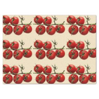 El regalo de tomates papel de seda