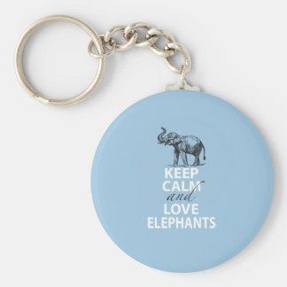 El regalo del elefante guarda la impresión de los  llavero personalizado