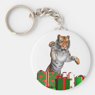 El regalo del tigre llavero
