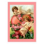 El regalo del Victorian marca la más dulce y el dí Tarjetas De Visita