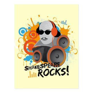 El regalo divertido Shakespeare del lema de Shake Postales