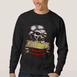 El regalo más grande del día de padre del papá del suéter