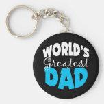 El regalo más grande del papá del mundo llaveros personalizados