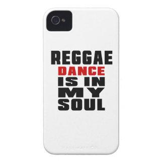 El REGGAE está en mi alma iPhone 4 Protectores