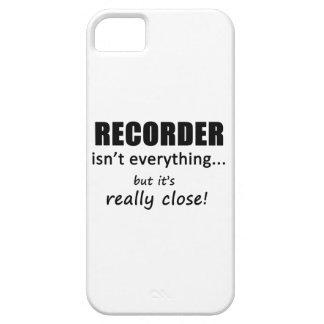 El registrador no es todo iPhone 5 Case-Mate protectores
