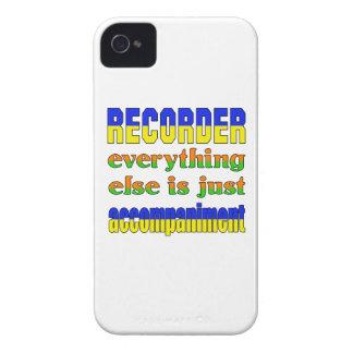 El registrador todo es apenas acompañamiento iPhone 4 Case-Mate carcasa