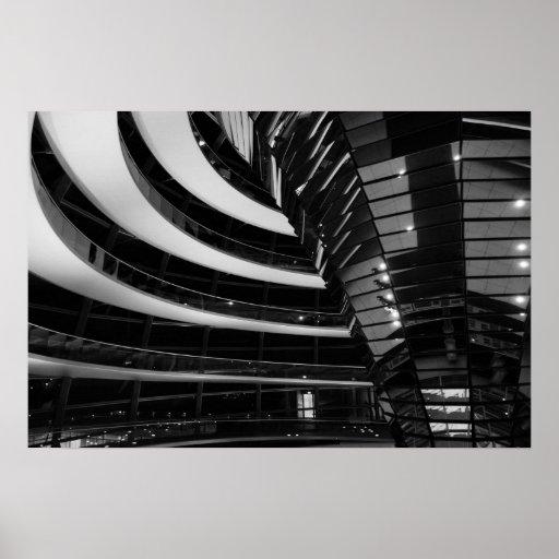 El Reichstag, Berlín, Alemania Póster