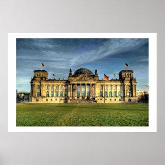 El Reichstag Póster