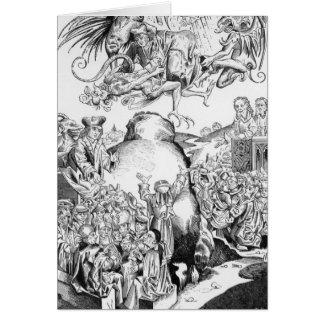 El reinado del Antichrist Tarjeta