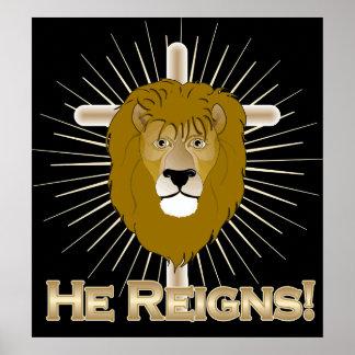 Él Reinado-LEÓN del POSTER de JUDAH