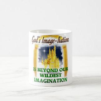 El reino de dios taza de café