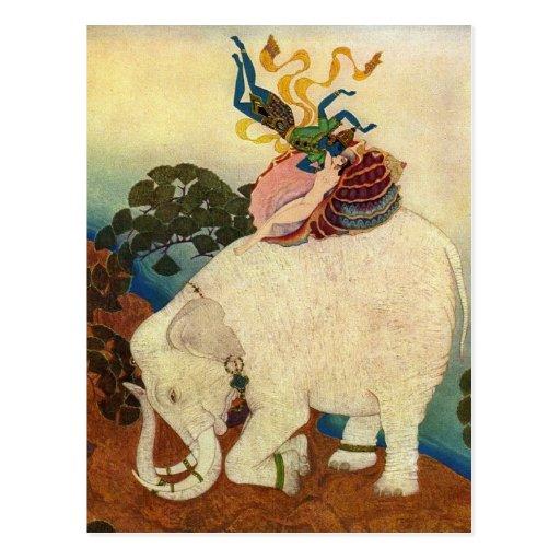 El reino de Dulac de la perla 1920 Tarjeta Postal