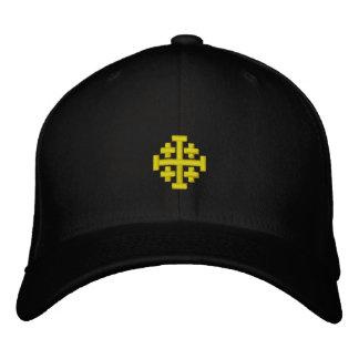 El Reino de Jerusalén bordó el gorra Gorras De Beisbol Bordadas