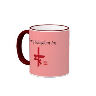 """El reino de marfil """"me besa"""" taza de café"""