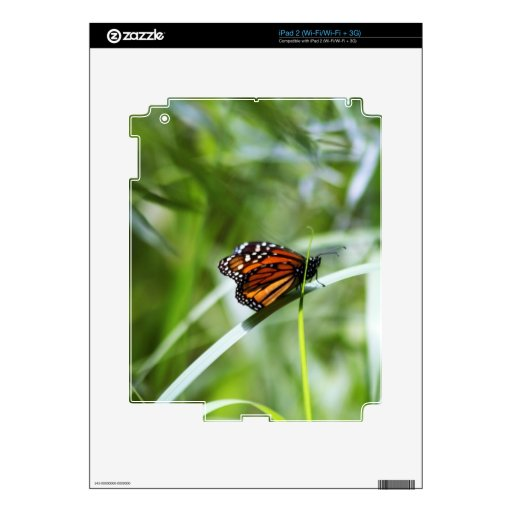 El reino del monarca calcomanía para iPad 2