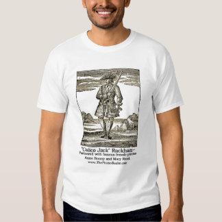 El reino Jack Rackham del pirata Camisas