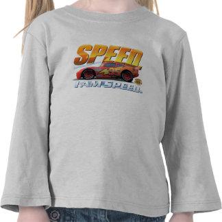 """El relámpago McQueen de los coches """"soy velocidad"""" Camiseta"""