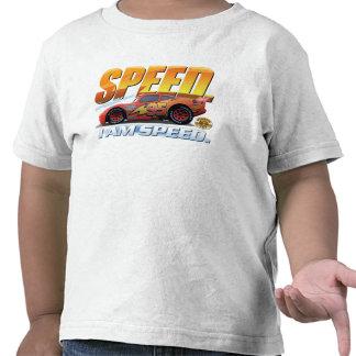"""El relámpago McQueen de los coches """"soy velocidad"""" Camisetas"""