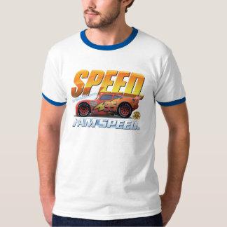 """El relámpago McQueen de los coches """"soy velocidad"""" Playeras"""