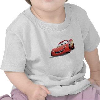 El relámpago McQueen Disney de los coches Camisetas