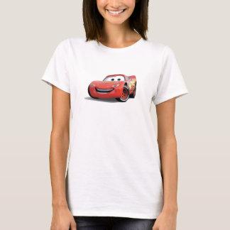 El relámpago McQueen Disney de los coches Playera