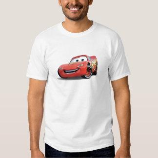 El relámpago McQueen Disney de los coches Remera