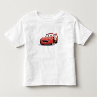 El relámpago McQueen Disney de los coches Remeras