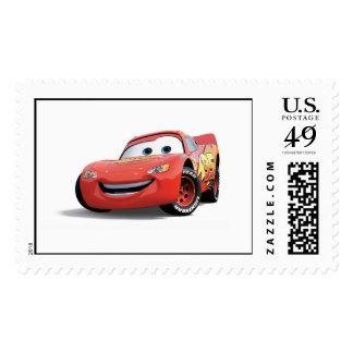 El relámpago McQueen Disney de los coches Sellos