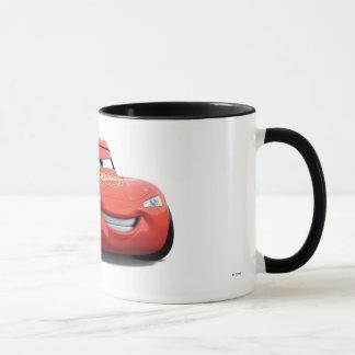 El relámpago McQueen Disney de los coches Taza