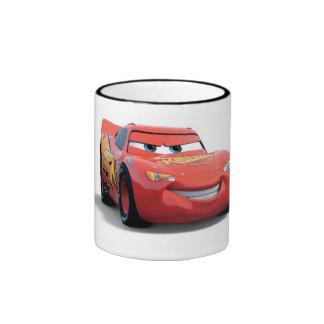 El relámpago McQueen Disney de los coches Taza De Café