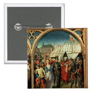 El relicario de Santa Ursula, 1489 Pin Cuadrada 5 Cm